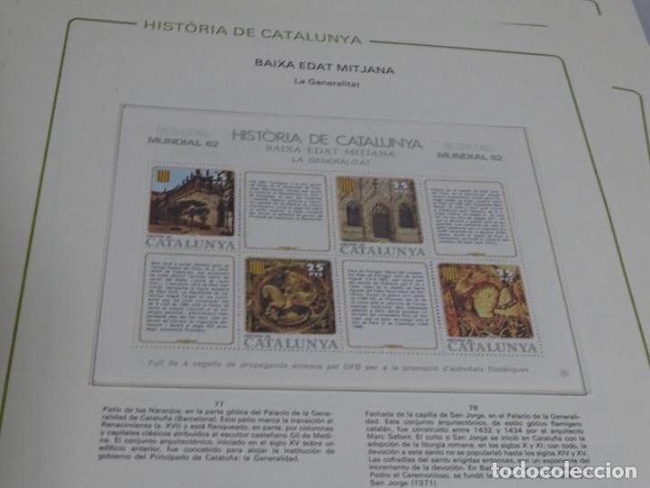 Sellos: Album sellos de la historia de cataluña. - Foto 21 - 217389010