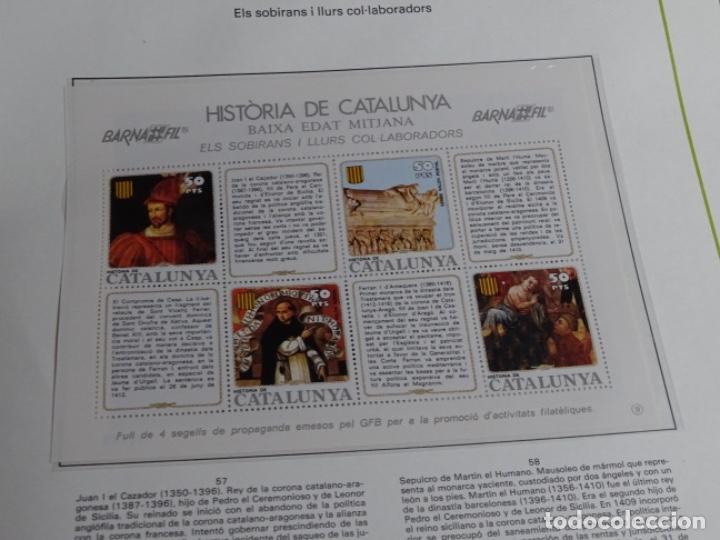 Sellos: Album sellos de la historia de cataluña. - Foto 26 - 217389010