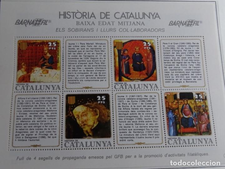 Sellos: Album sellos de la historia de cataluña. - Foto 29 - 217389010