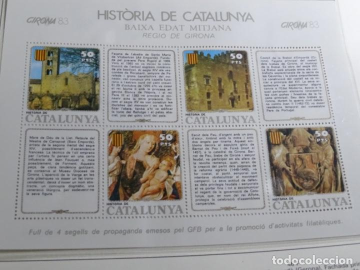 Sellos: Album sellos de la historia de cataluña. - Foto 30 - 217389010