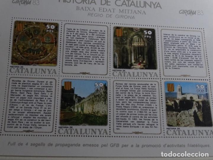 Sellos: Album sellos de la historia de cataluña. - Foto 31 - 217389010