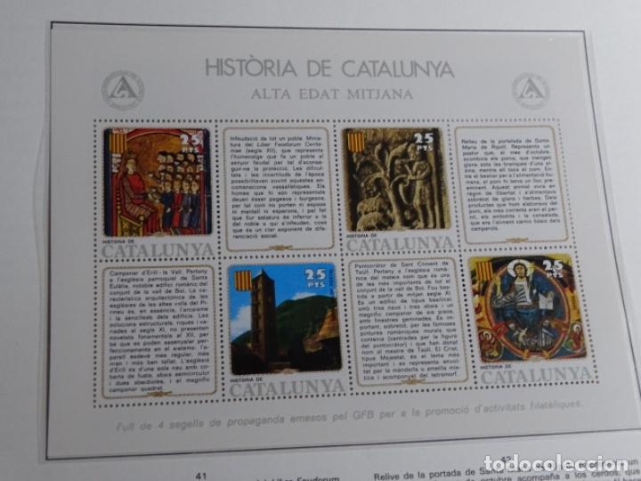Sellos: Album sellos de la historia de cataluña. - Foto 33 - 217389010