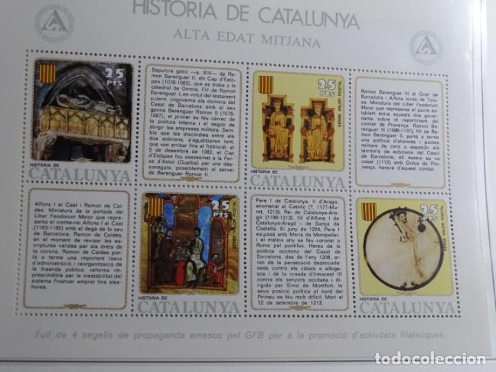 Sellos: Album sellos de la historia de cataluña. - Foto 34 - 217389010