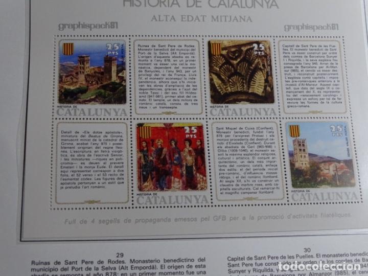 Sellos: Album sellos de la historia de cataluña. - Foto 36 - 217389010