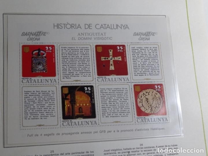 Sellos: Album sellos de la historia de cataluña. - Foto 37 - 217389010