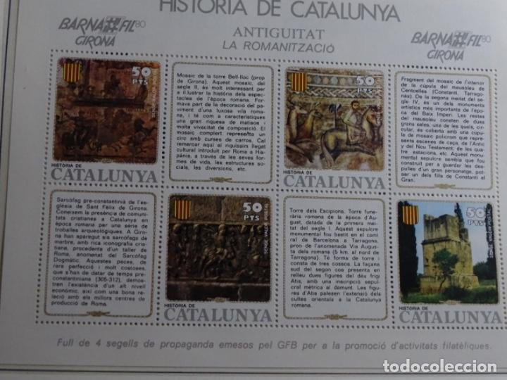 Sellos: Album sellos de la historia de cataluña. - Foto 38 - 217389010