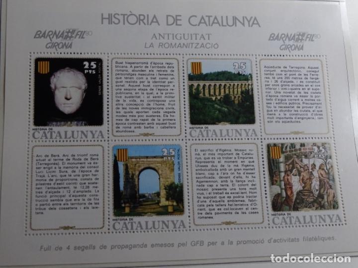 Sellos: Album sellos de la historia de cataluña. - Foto 39 - 217389010