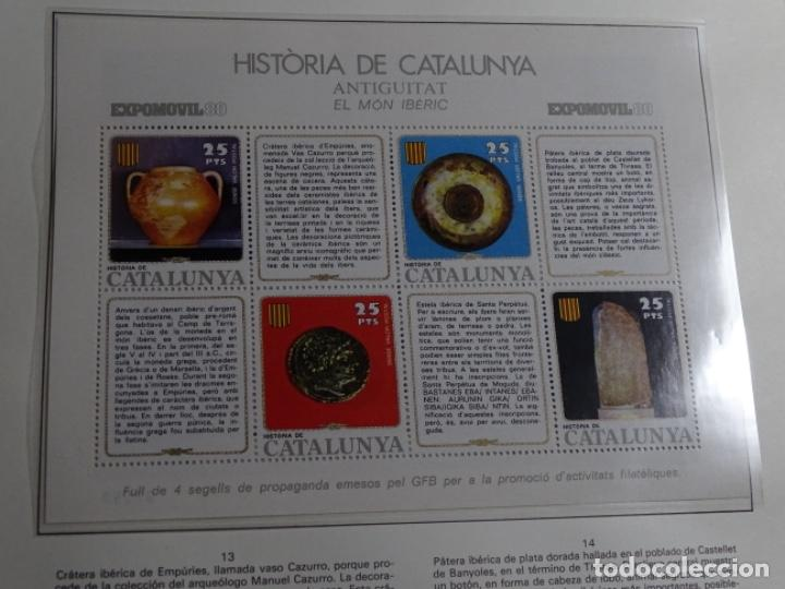Sellos: Album sellos de la historia de cataluña. - Foto 40 - 217389010