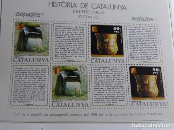 Sellos: Album sellos de la historia de cataluña. - Foto 43 - 217389010