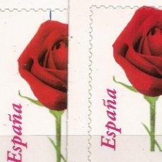 Sellos: EDIFIL 4306 ROSA - SELLO PROCEDENTE DE CARNET - VARIEDAD. Lote 217456065