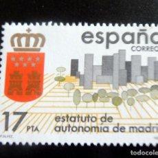Francobolli: ESPAÑA 1984 - EDIFIL 2742/**/ MNH - ESTATUTO AUTONOMÍA DE MADRID. Lote 248739470