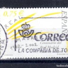 Sellos: ED Nº 3880 REAL MADRID. Lote 217556693
