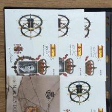 Sellos: ESPAÑA SPAIN PRUEBAS DE LUJO 64A/64D CON SU CARNET NUEVA**. Lote 217855260