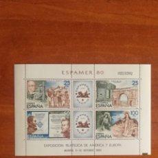 Timbres: ESPAÑA, N°2583 MNH, ESPAMER 1980(FOTOGRAFÍA ESTÁNDAR). Lote 218011988
