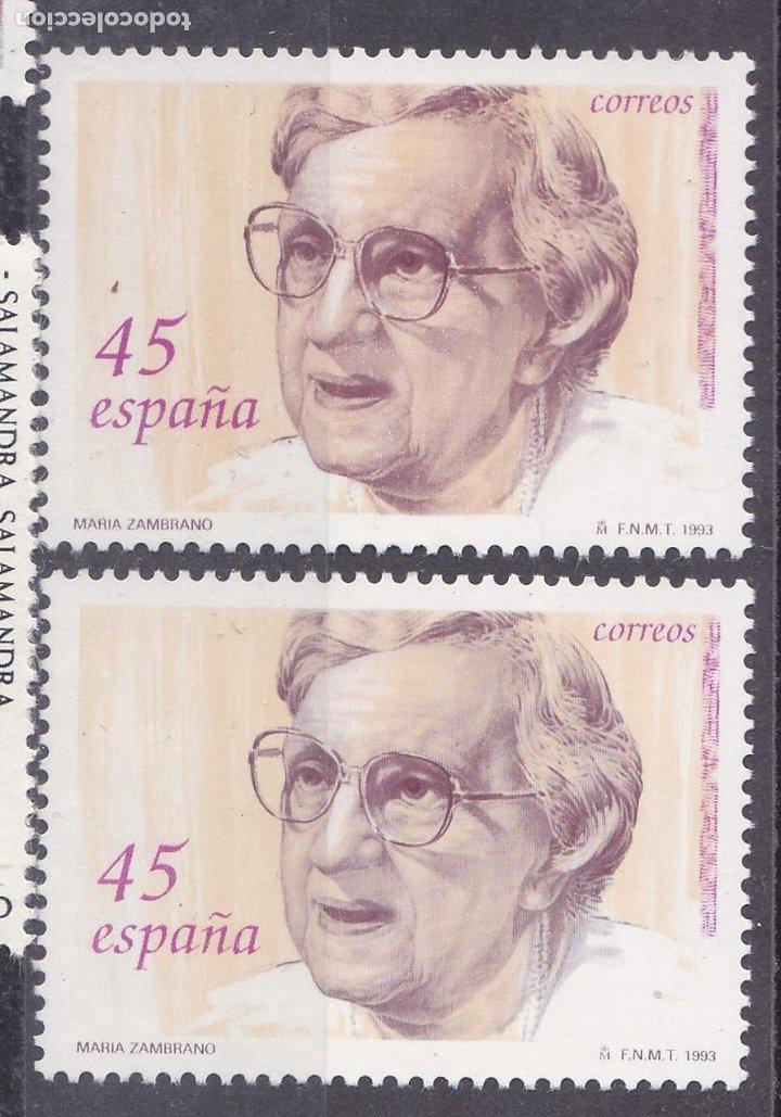 LL1-MARIA ZAMBRANO VARIEDAD ** SIN FIJASELLOS.. (Sellos - España - Juan Carlos I - Desde 1.986 a 1.999 - Nuevos)