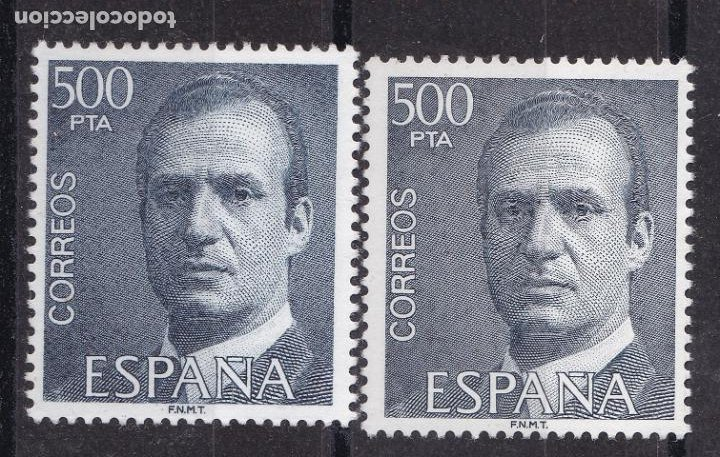 LL2-JUAN CARLOS 500 PTAS VARIEDAD ** SIN FIJASELLOS.. (Sellos - España - Juan Carlos I - Desde 1.986 a 1.999 - Nuevos)