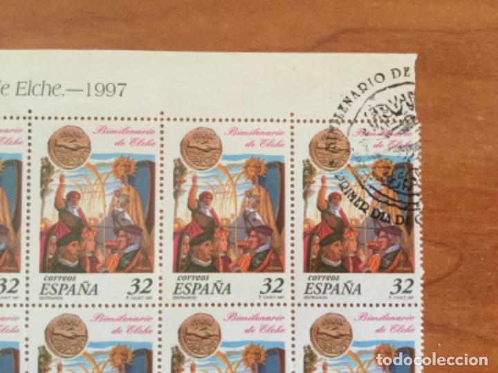 Sellos: España 1997 Pliego 50 Sellos Bimilenario de Elche Edifil 3499 - Foto 2 - 218081598