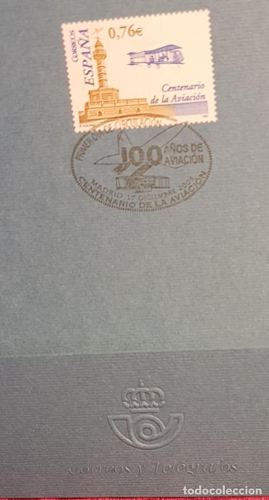 Sellos: España,2003, centenario de la aviación, edifil 4047,matasellos de primer día - Foto 2 - 218111086