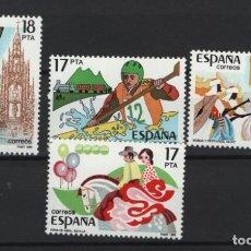 Sellos: TV_001/ ESPAÑA 1985, EDIFIL 2783/86 MNH**, GRANDES FIESTAS POPULARES ESPAÑOLAS. Lote 218168962