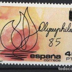 Sellos: TV_001/ ESPAÑA 1985, EDIFIL 2781 MNH**, EXPOSICION FILATELICA. Lote 218171918