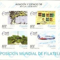 Sellos: ESPAÑA PRUEBA OFICIAL EDIFIL 59 EXPOSICIÓN ESPACIO'96 SEVILLA 1996 NL767. Lote 218491206