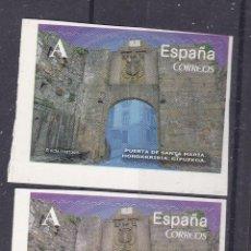 Sellos: LL12 -PUERTA DE SANTA MARÍA HONARRIBIA (GUIPUZCOA) VARIEDAD ** SIN FIJASELLOS. Lote 218540043