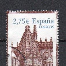 Sellos: SERIE USADA DE ESPAÑA -CATEDRAL DE PALENCIA-, AÑO 2010. Lote 218609351