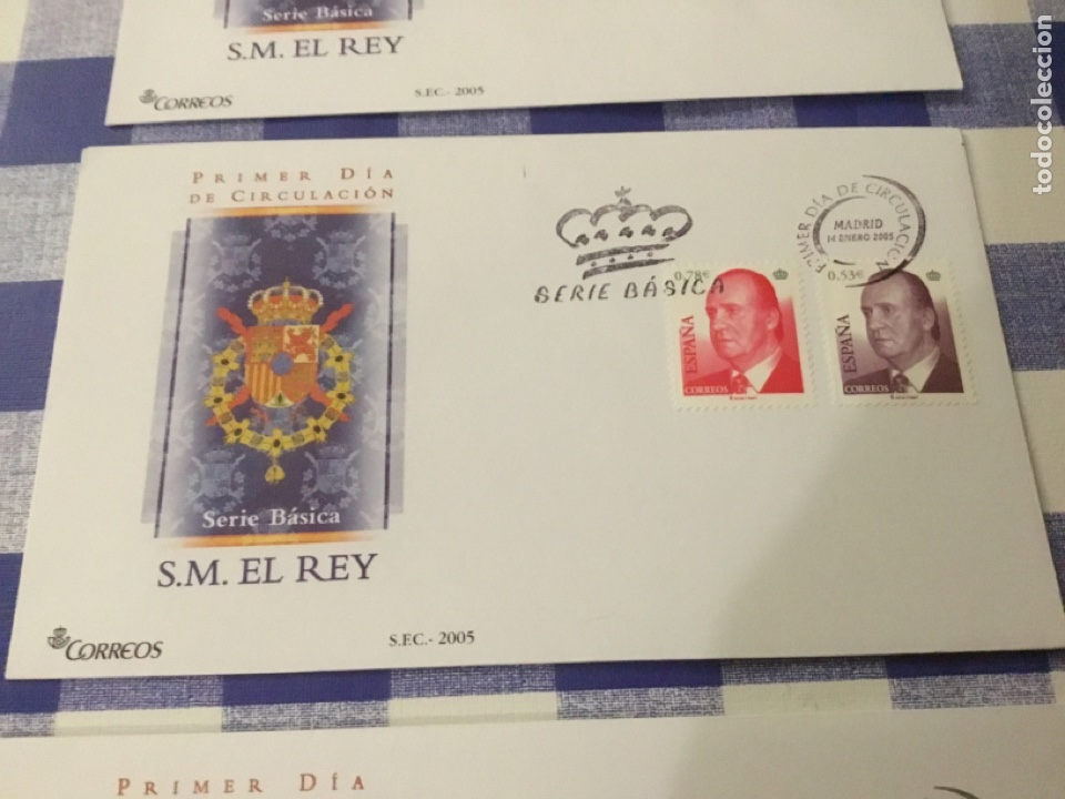 Sellos: Sobre primer día, básica de Juan Carlos I 2005. - Foto 3 - 218642570