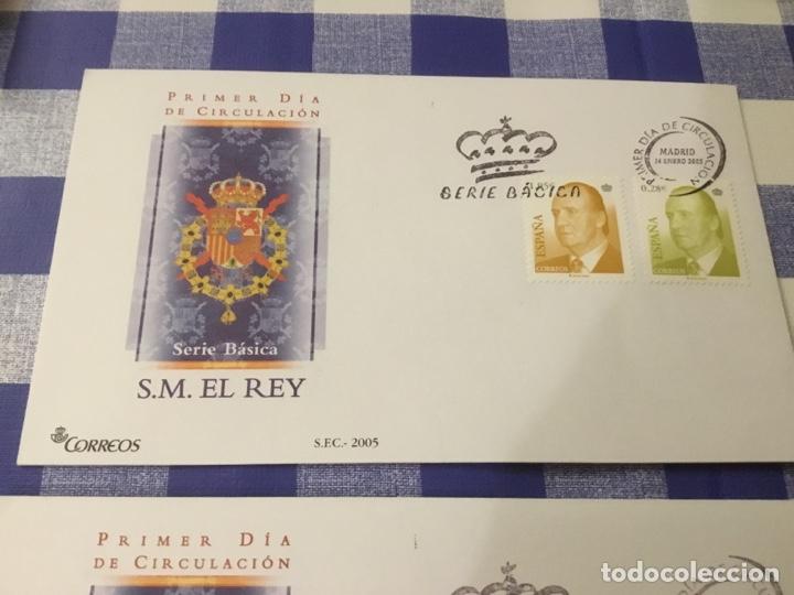 Sellos: Sobre primer día, básica de Juan Carlos I 2005. - Foto 4 - 218642570