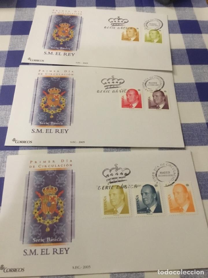 SOBRE PRIMER DÍA, BÁSICA DE JUAN CARLOS I 2005. (Sellos - España - Juan Carlos I - Desde 2.000 - Cartas)