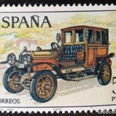 Sellos: SELLOS NUEVOS DE ESPAÑA (AUTOMOVILES ANTIGUOS) (HISPANO SUIZA 1916) AÑO 1977 EDIFIL 2410. Lote 218678396
