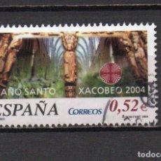 Sellos: SERIE USADA DE ESPAÑA -XACOBEO 2004-, AÑO 2004, EN BUEN ESTADO. Lote 218720973