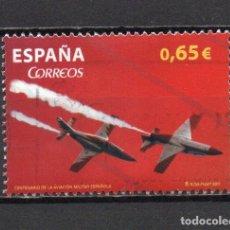 Sellos: SELLO USADO DE ESPAÑA -CENTENARIO DE LA AVIACIÓN MILITAR ESPAÑOLA-, AÑO 2011, EN BUEN ESTADO. Lote 218721833