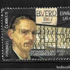Selos: 2016-ESPAÑA. PERSONAJES ANTONIO BUERO VALLEJO, DRAMATURGO. Lote 218748140