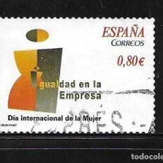 Selos: 2011-ESPAÑA. DÍA INTERNACIONAL DE LA MUJER. IGUALDAD EN LA EMPRESA. Lote 218748262
