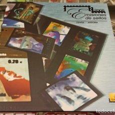 Sellos: LIBRO ÁLBUM CORREOS AÑO 2005 - EMISIONES DE SELLOS ESPAÑA Y ANDORRA NUEVO. Lote 218809411