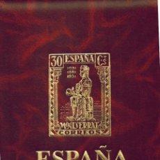 Sellos: ALBUM LUJO NILO DE OLEGARIO CON SELLOS DE ESPAÑA NUEVOS 1980 AL1989. Lote 218811102
