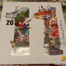 Sellos: LIBRO ÁLBUM CORREOS AÑO 2011 - EMISIONES DE SELLOS ESPAÑA Y ANDORRA NUEVO. Lote 218812798