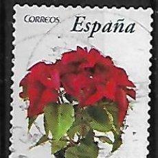 Sellos: SELLO ESPAÑA. USADO. 2006. .FLORA Y FAUNA. FLOR DE PASCUA. EDIFIL Nº 4214. Lote 218817412
