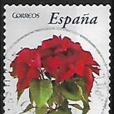 Sellos: SELLO ESPAÑA. USADO. 2006. .FLORA Y FAUNA. FLOR DE PASCUA. EDIFIL Nº 4214. Lote 218817508