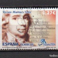 Sellos: SELLO USADO DE ESPAÑA -ESPAÑA 2004, VALENCIA-, AÑO 2004, EN BUEN ESTADO. Lote 218821913