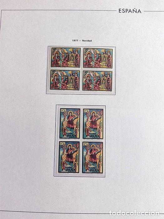Sellos: España sellos en bloque de 4 de los años 1975 1976 1977 1978 con Hojas Edifil en negro HEBS70 - Foto 27 - 205826555