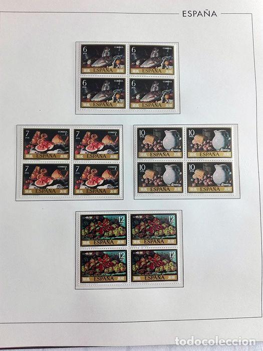 Sellos: España sellos en bloque de 4 de los años 1975 1976 1977 1978 con Hojas Edifil en negro HEBS70 - Foto 40 - 205826555