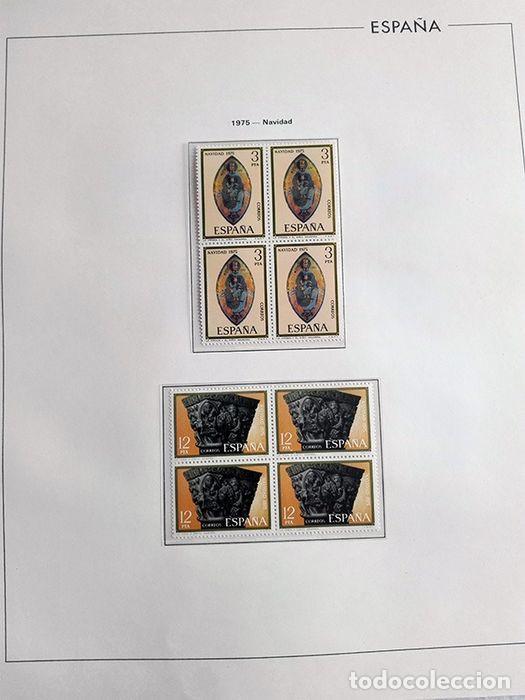 Sellos: España sellos en bloque de 4 de los años 1975 1976 1977 1978 con Hojas Edifil en negro HEBS70 - Foto 58 - 205826555