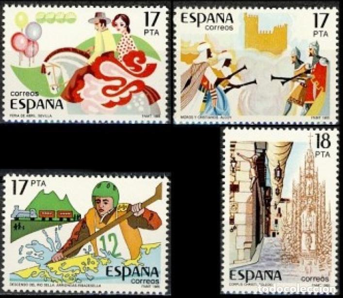 ESPAÑA 1985.- EDIFIL 2783/86: ESPAMER 85./ NUEVO, DEL PLIEGO. (Sellos - España - Juan Carlos I - Desde 1.975 a 1.985 - Nuevos)