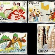 Selos: ESPAÑA 1985.- EDIFIL 2783/86: ESPAMER 85./ NUEVO, DEL PLIEGO.. Lote 218943636