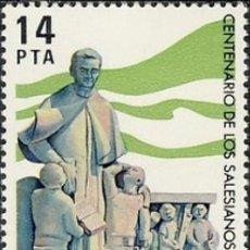 Sellos: ESPAÑA 1982.- EDIFIL 2684: PADRES SALECIANOS./ NUEVOS, DEL PLIEGO.. Lote 219025785