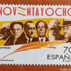 Sellos: ESPAÑA, N°3546 MNH**, GENERACIÓN DEL 98' (FOTOGRAFÍA ESTÁNDAR). Lote 219189866