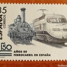 Sellos: ESPAÑA N°3591 MNH**150 AÑOS DEL FERROCARRIL EN ESPAÑA (FOTOGRAFÍA ESTÁNDAR). Lote 219189966