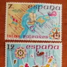 Sellos: ESPAÑA N °2622/23 MNH**ESPAÑA. INSULAR 1981 (FOTOGRAFÍA ESTÁNDAR). Lote 219208648